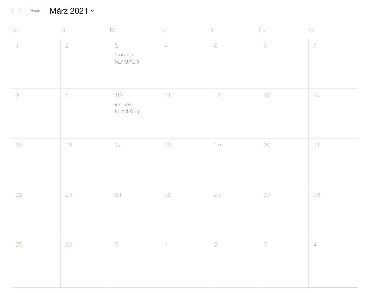 Programmkalender